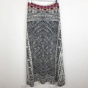 Cecilia Prado Anthropologie Sweater Maxi Skirt LRG